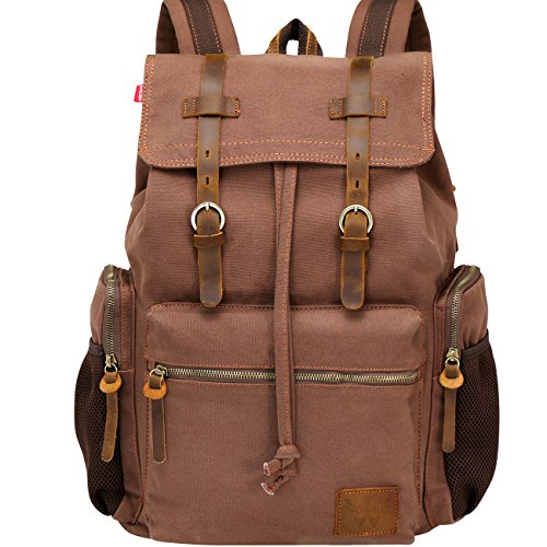 Inch Travel Bag Canvas Leather