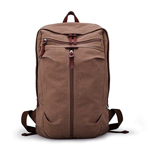 64d0e6b71213 Muzee Vintage Canvas Backpack School Bag Book Bag College Bag Daypack  Hiking Bag Travel Bag Camping Bag Sports Bag Gym Bag Weekend Bag Laptop Bag  Computer ...