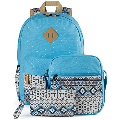 71abccf756f4 Plambag Canvas Backpack Set 3 Pcs