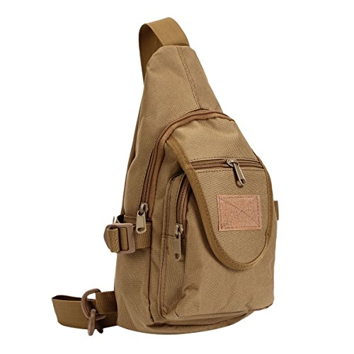 9296917c4902 Outdoor Sports Casual Canvas Crossbody Sling Bag Backpack
